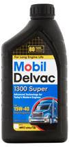 Mobil Delvac 1300 Super Oil Change