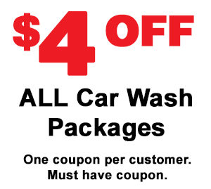 $4 Off All Car Wash Packages