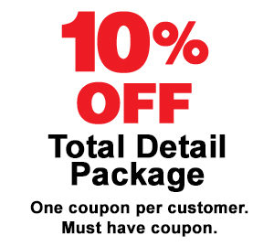 10% Off Total Detail Package